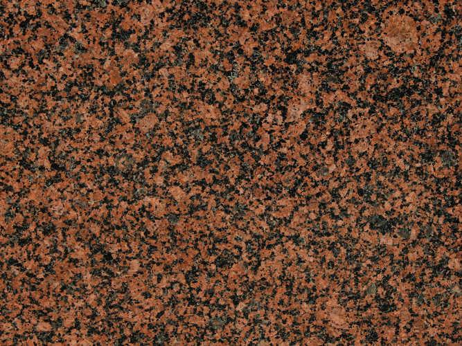 Rodzaje kamieni: Balmoral Red - granit