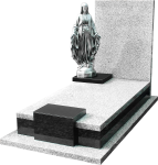 144z Nagrobek z figurą Maryi