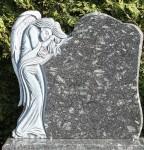Tablica nagrobkowa z Aniołem