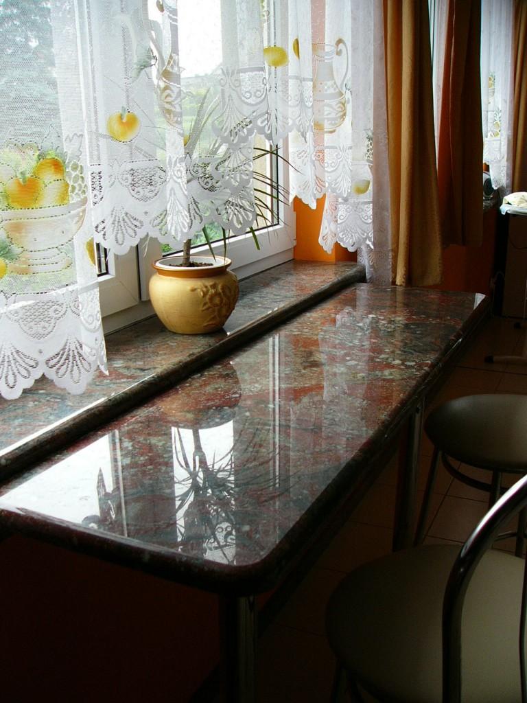 Parapety, blaty granitowe Bielsko-Biała