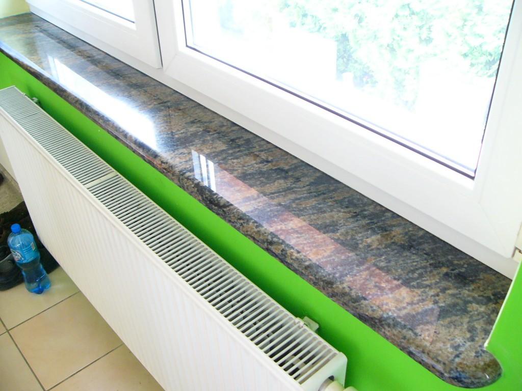 Parapety granitowe w mieszkaniu (zdjęcie nr 11)