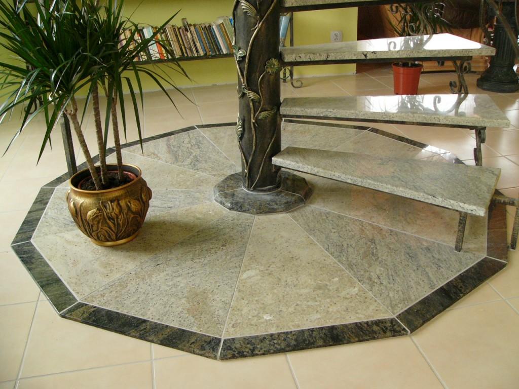 Schody kamienne (z granitu polerowanego) foto 03