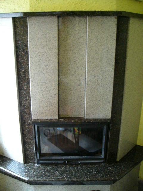 Granit na kominek