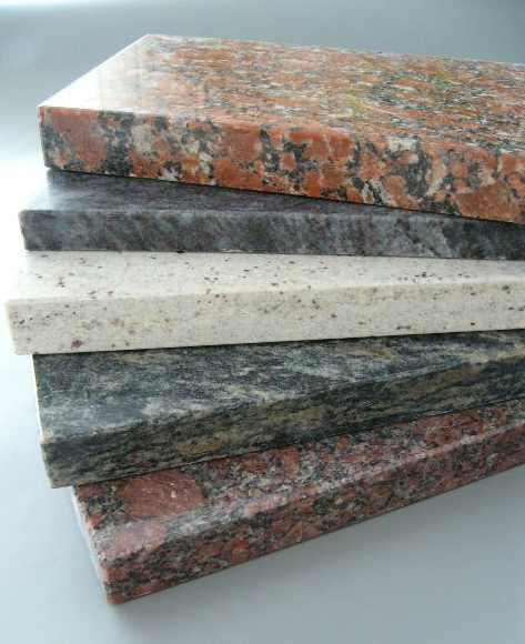 Parapety wenętrzne i zewnętrzne kamienne - granitowe w różnych kolorach
