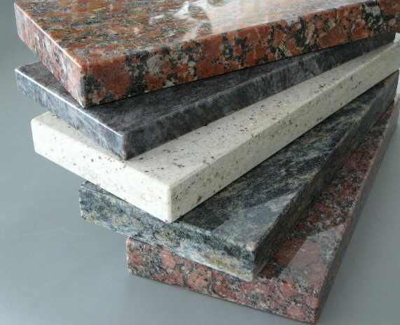 Parapety granitowe wewnętrzne i zewnętrzne, różne kolory kamienia Bielsko-Biała i okolice