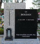 Tablice na pomnik pojedynczy dwukolorowe