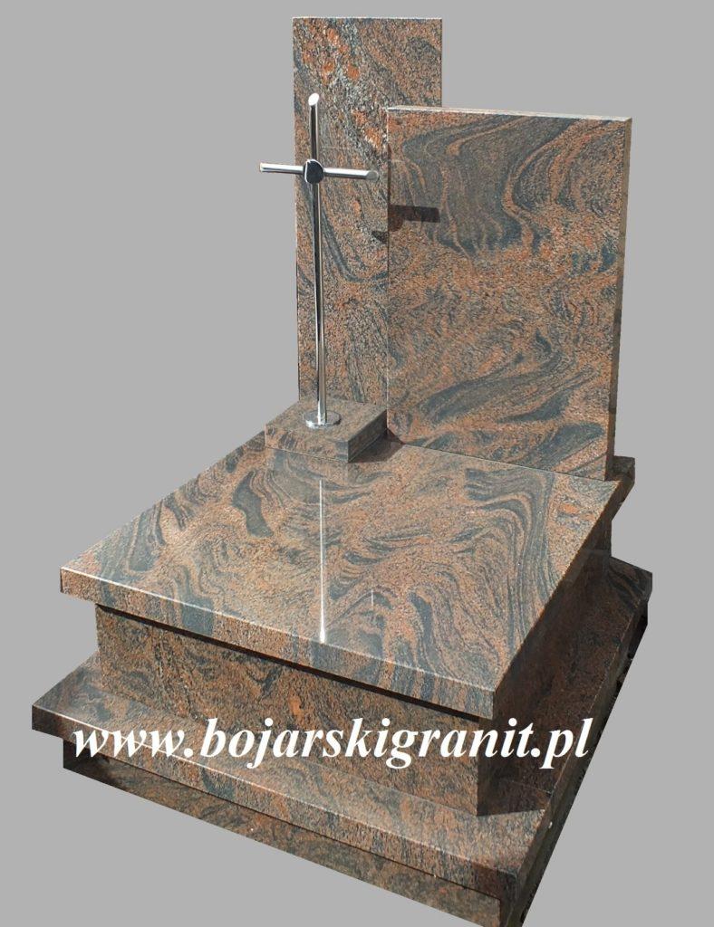 Pomnik urnowy z gnejsu szwedzkiego.