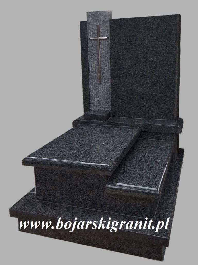 Pomnik na urny granitowy.