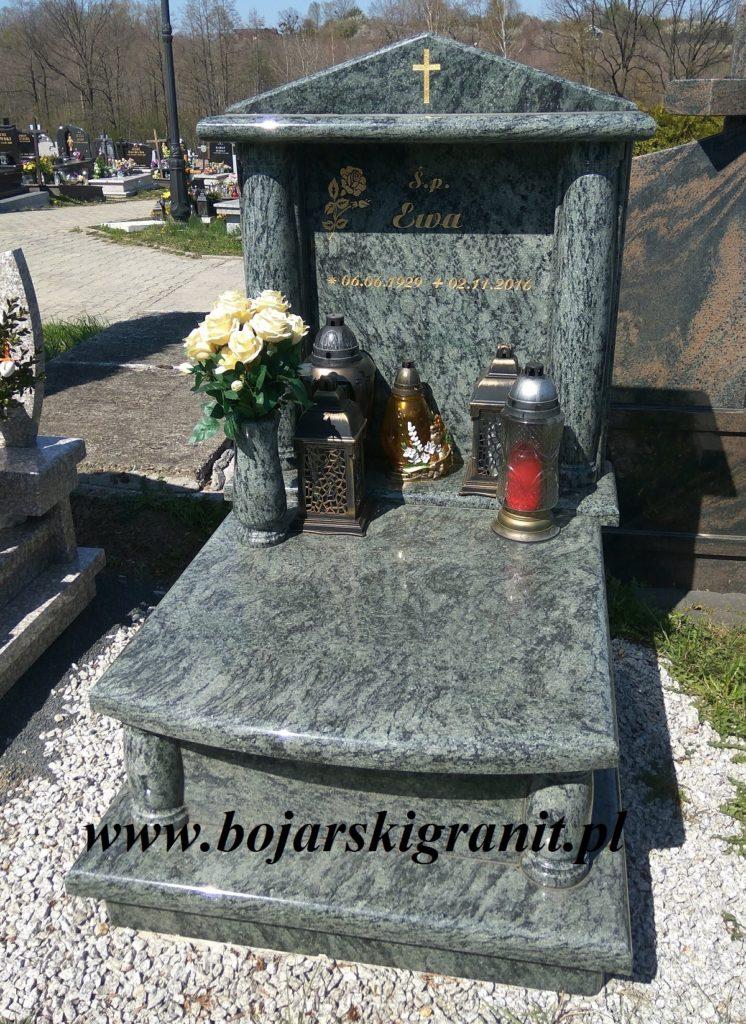 Pomnik urnowy Bielsko-Biała. Realizacja Bojarski Granit Kozy