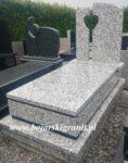 Pomnik granitowy jasny